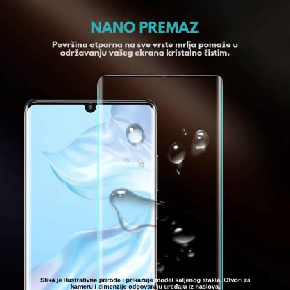 3D Anti Spy kaljeno staklo / Staklena Folija za privatnost za Iphone 12 Pro 125299