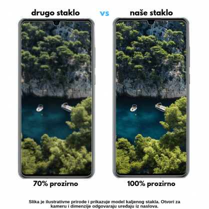 3D Anti Spy kaljeno staklo / Staklena Folija za privatnost za Iphone 12 Mini 125310