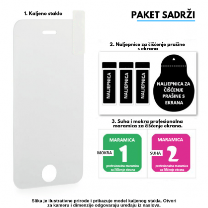 3D Anti Spy kaljeno staklo / Staklena Folija za privatnost za Iphone 12 Mini 125311