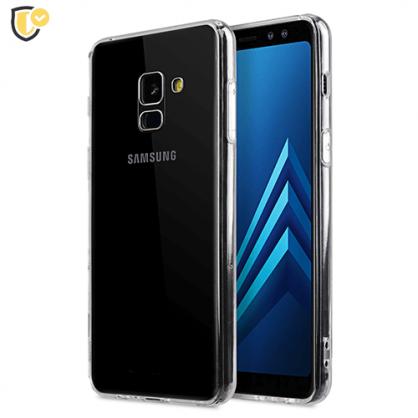 Ultra tanka Prozirna Silikonska maskica za Galaxy A8 / A5 (2018) 31453