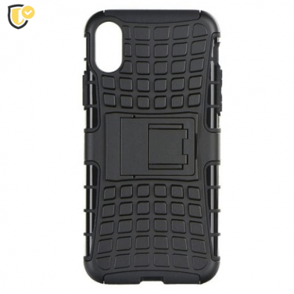 Defender Maskica za iPhone X/XS - Crna 44533