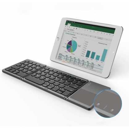 2u1 Bluetooth preklopna Tipkovnica s Touchpad-om - Crna 129819