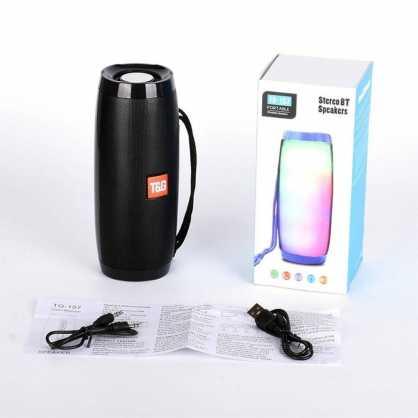 T&G RGB Bluetooth Zvučnik TG157 - Plavi 131361
