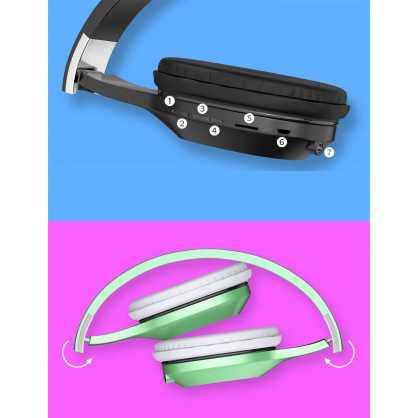 Kaku v5.0 Bluetooth Slušalice - Crne 130175