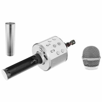Karaoke Bluetooth Mikrofon sa Zvučnikom - Crni 131331