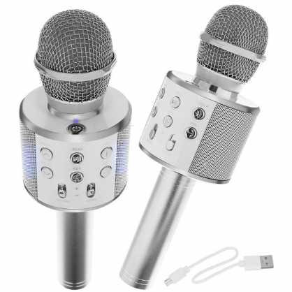 Karaoke Bluetooth Mikrofon sa Zvučnikom - Crni 131332