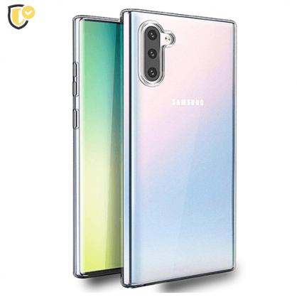 Ultra tanka Prozirna Silikonska maskica za Galaxy Note 10 31497