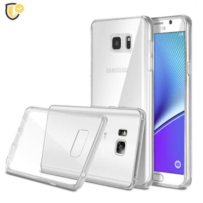 Ultra tanka Prozirna Silikonska maskica za Galaxy Note 5 31440