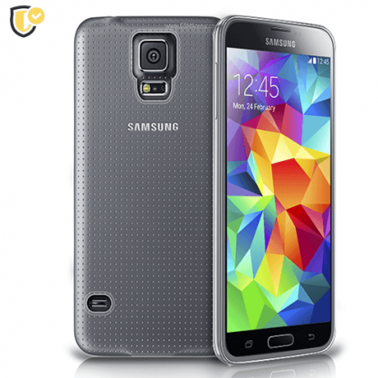 Ultra tanka Prozirna Silikonska maskica za Galaxy S5 31443