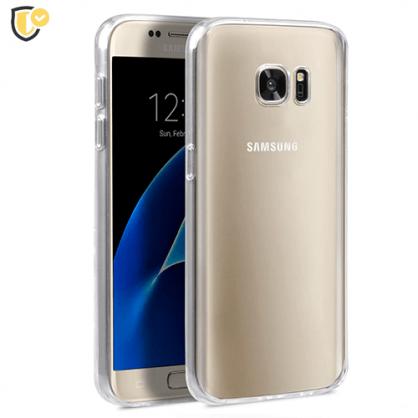 Ultra tanka Prozirna Silikonska maskica za Galaxy S7 31445