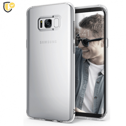 Ultra tanka Prozirna Silikonska maskica za Galaxy S8 31451