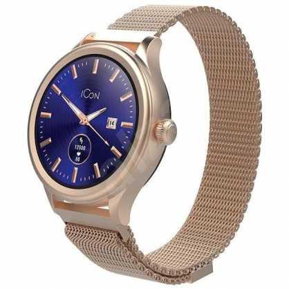 Forever Icon AW-100 Pametni Sat (Smartwatch) - Zlatno-Roza 131261