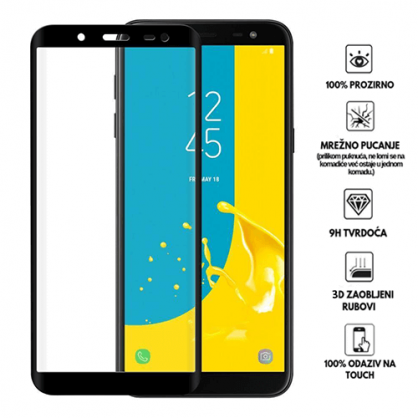 3D Zaobljeno Kaljeno Staklo za Galaxy J6 (2018) 34069