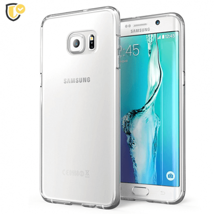 Ultra tanka Prozirna Silikonska maskica za Galaxy S6 edge 31447