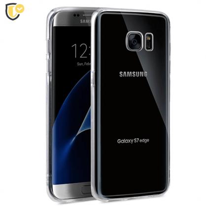 Ultra tanka Prozirna Silikonska maskica za Galaxy S7 edge 31446