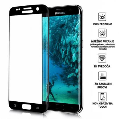 3D Zaobljeno Kaljeno Staklo za Galaxy S7 edge 34034