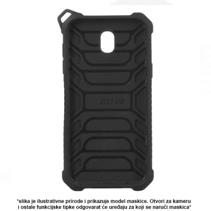 Beeyo Protector Silikonska maskica za Samsung Galaxy Note 8 - Crna 44454