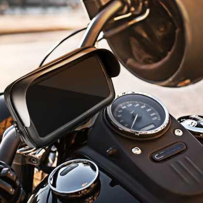 """Univerzalni Držač/nosač Mobitela za motor / skuter vodootporan s zip zatvaračem i kapuljačom 5.5"""" - 6.3"""" 130323"""