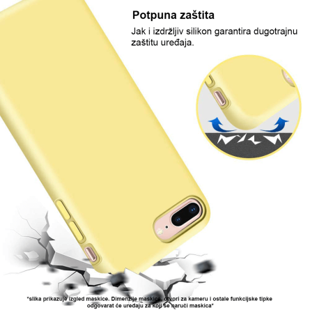 Silikonska Maskica u Više Boja za iPhone XS Max 35352
