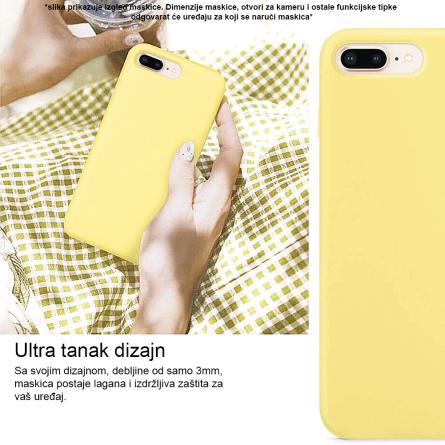 Silikonska Maskica u Više Boja za Galaxy Note 10 Plus 35003