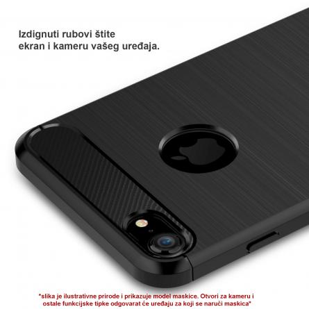 Silikonska Carbon Maskica za Galaxy A80 39338