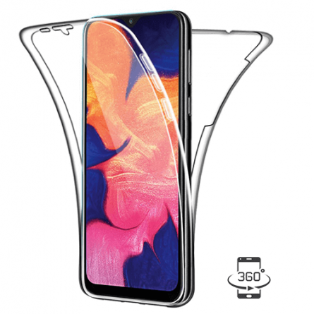 3D Obostrana Prozirna Maskica za Galaxy A7 (2018) 34291
