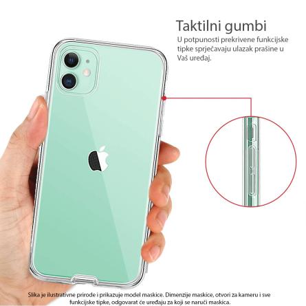3D Obostrana Prozirna Maskica za Galaxy A7 (2018) 34293