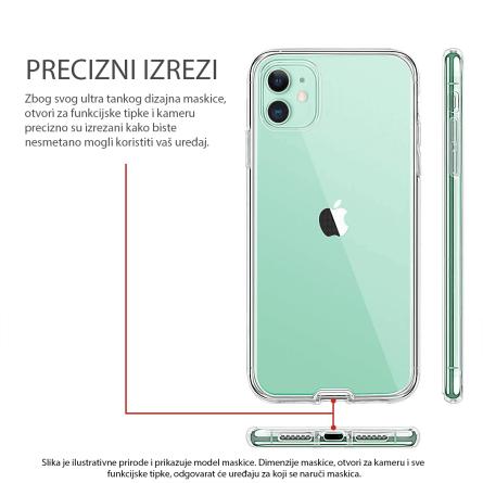 3D Obostrana Prozirna Maskica za Galaxy A7 (2018) 34294