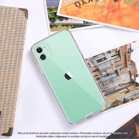 3D Obostrana Prozirna Maskica za iPhone XR 34381