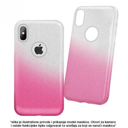 3u1 Dvobojna Maskica sa Šljokicama za iPhone X/XS - Više boja 38471