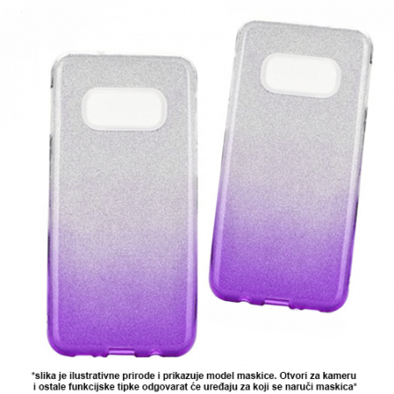 3u1 Dvobojna Maskica sa Šljokicama za Galaxy A7 (2018) - Više boja 38269