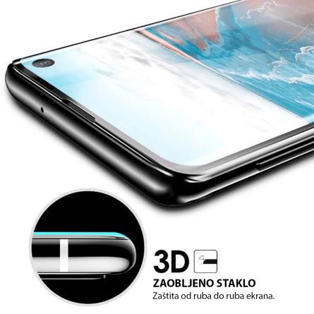 3D Zaobljeno Kaljeno Staklo za Galaxy A40 34017