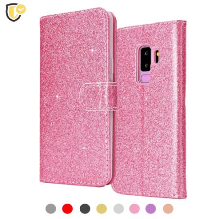 Glitter Preklopna maskica za Galaxy A7 (2018) - Više boja 38183