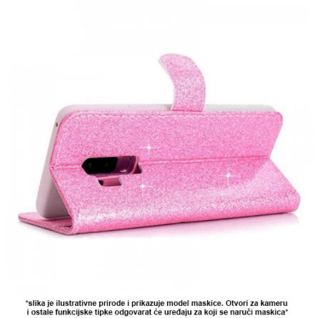 Glitter Preklopna maskica za Galaxy J4 Plus - Više boja 38190