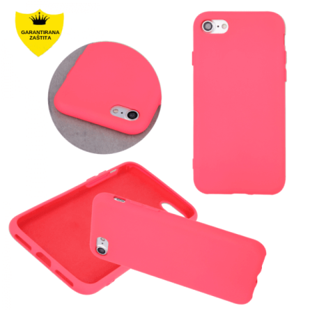 Mat Silikonska Maskica u Više boja za iPhone 7/8 35635