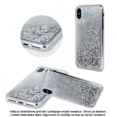 Liquid Sparkle  Silikonska Maskica za Y7 / Y7 Prime (2019) 38160