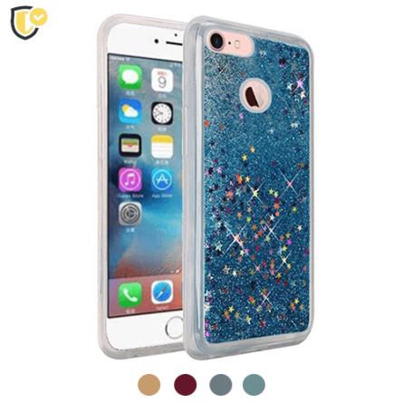 Liquid Glitter Stars Silikonska Maskica za Galaxy S6 - Više boja 37593