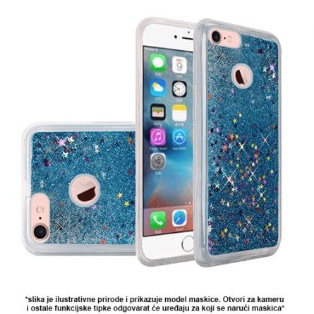 Liquid Glitter Stars Silikonska Maskica za Galaxy S7 - Više boja 37599