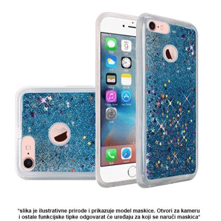 Liquid Glitter Stars Silikonska Maskica za Galaxy A7 (2018) - Više boja 37554