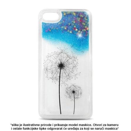 Liquid Flower Silikonska Maskica za Galaxy A3 (2016) - Više boja 37906