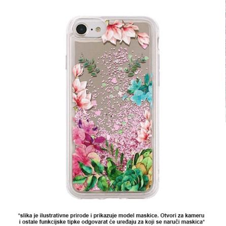 Liquid Flower Silikonska Maskica za Galaxy S9 37963