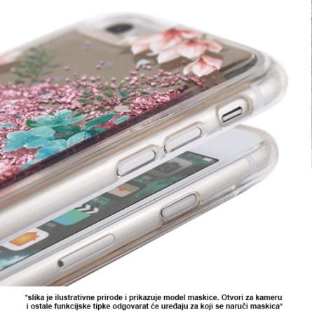 Liquid Flower Silikonska Maskica za Galaxy S9 37964