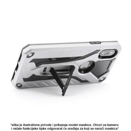 Srebrna Defender Stand Maskica za Galaxy A8 / A5 (2018) 36797