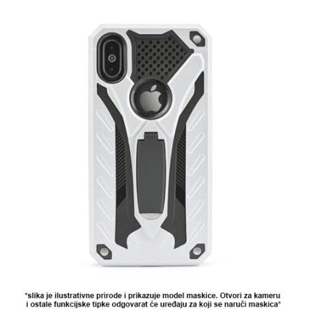 Srebrna Defender Stand Maskica za Galaxy A8 / A5 (2018) 36798