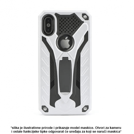 Srebrna Defender Stand Maskica za iPhone 5S 36813