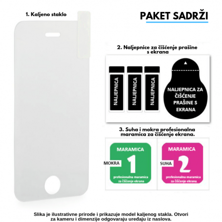 Kaljeno Staklo / Staklena Folija za Apple iPhone 5S 9438