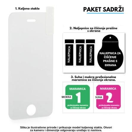 Kaljeno Staklo / Staklena Folija za Apple iPhone 7 / 8 9474