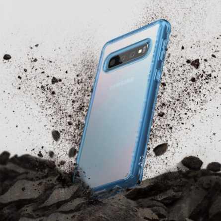Ringke FUSION Maskica za Galaxy S10 Plus - Blue 30425
