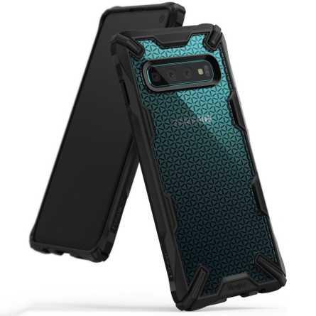 Ringke FUSION X Maskica za Galaxy S10 - Hexagon Black 30122