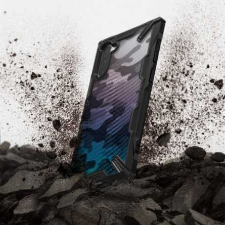 Ringke FUSION X Maskica za Galaxy Note 10 Plus - Black 30251